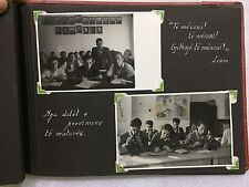 old albanian book photo-album Enver Hoxha propaganda-Raqi Qirinxhi gymnasium1950