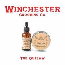 Beard Oil + Beard Balm - 'The Outlaw' -Great mens gift idea