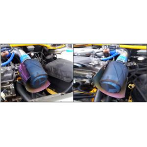 Car High Flow Air Filter Black Dust Cover Dustproof Waterproof Oil-proof Outwear