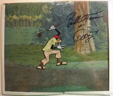 Disney Goofy Golf 1961 Art Corner Original Production cel Bill Farmer PSA D
