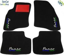 Fiat Punto Sportlich 2 ^ Serie Auto Fußmatte+4loghi+4blok