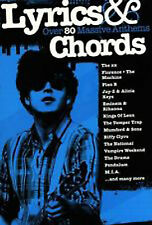 Lyrics and Chords Over 80 Massive Anthems Guitar The XX Plan B Kings of Leon B51