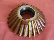 RESHARPENED UNKOWN MFG. SINGLE ANGLE MILLING CUTTER RH 45 DEGREE 4 X 1 X 1 ¼