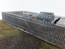 Laser Cut OO/HO Gauge Security Fence Pack of 4 Sections Each 200mm New Version