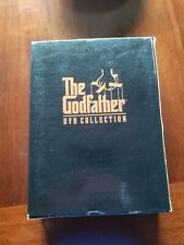 THE GODFATHER TRILOGY Complete Collection DVD 2001 5-Disc Set  I,II,III + Bonus