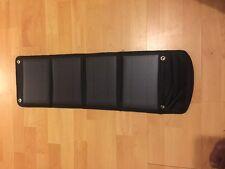 14W 4-Plegable Doble Usb Panel Solar Cargador De Batería Teléfono PC portátil