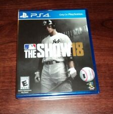 MLB: The Show 18 for PlayStation 4 - BRAND NEW & FACTORY SEALED! PS4
