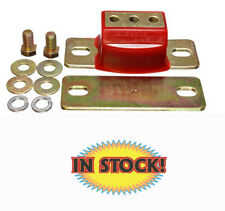 Energy Suspension 3.1108R - GM Transmission Mount Red Poly with Gold Bracket