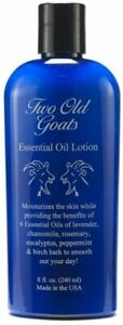 Two Old Goats Arthritis Aches & Pains tendons, muscles 8oz Essential lotion
