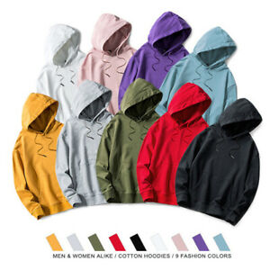 Mens Casual Cotton Hoodie Sports Workout Sweater Sweatshirt Fashion Hip Hop Coat