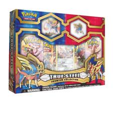 Pokemon True Steel Premium Collection box featuring Zacian