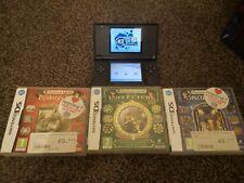 Nintendo DS Lite + tarjeta M3 + 3 Juegos Professor Layton