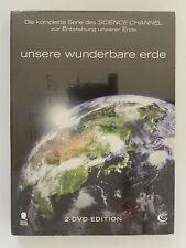 2 DVD Unsere wunderbare Erde Neu
