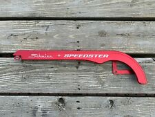 SCHWINN SPEEDSTER BICYCLE CHAIN GUARD RED VINTAGE RARE 24""