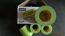 """3M Scotch Automotive Refinishing Masking Tape 233+ /401 1"""" box of 24 rolls"""