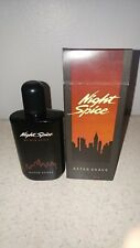 NOS Night Spice by Old Spice 3774 For Men 2 oz AFTER SHAVE Rare 1989