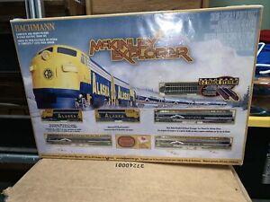 BACHMANN N SCALE MCKINLEY EXPLORER ELECTRIC TRAIN SET #24010 New In Box
