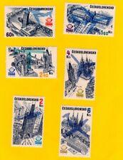 Czechoslovakia Scott nrs C83-C88 MNH