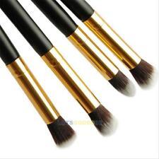 4PCS Pro Makeup Cosmetic Eyeshadow Blush Powder Foundation Blending Brushes Tool