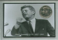 John F Kennedy JFK US USA United States of America 35th President Coin Gift Set