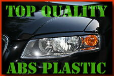 AUDI A4 B7 2004 - 2007 HEADLIGHT BROWS EYELIDS EYEBROWS ABS PLASTIC TRIMS TUNING
