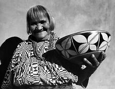 "Lee Marmon ""Pueblo Potter"" Hand Signed Original Photograph 1960"