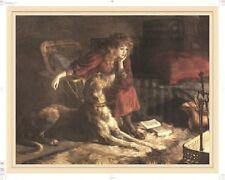 Scottish Deerhound Print, Silent Sympathy
