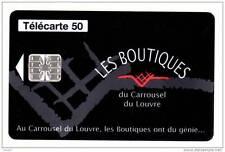 779 F779 - 08/97 - TELECARTE 50 - Les Boutiques du Carrousel du Louvre - C781133