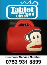 Rojo Paul Frank Mono Hard Shell Estuche para cargar/bolsa Para Samsung Galaxy Tab 2
