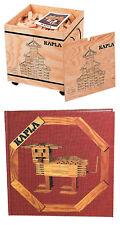 KAPLA 1000er Box Holzbausteine mit Kunstbuch Nr. 1 rot