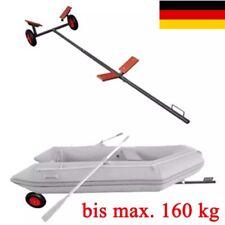 Bootstrailer Anhänger Hafentrailer Bootswagen Bootsanhänger Slipwagen max 160 kg