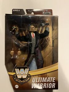 WWE MATTEL ELITE Legends Series 8 Ultimate Warrior MOC IN HAND *RARE*