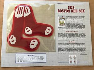 1932 BOSTON RED SOX MLB PATCH (Cooperstown Collection - Willabee & Ward)
