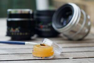 Helicoid grease for vintage manual camera lens servicing - 5ml pot - UK SELLER