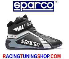 SCARPE KART SPARCO SCORPION BLACK/WHITE EU 46 KARTING BOOTS SHOES - SCHUHE KART