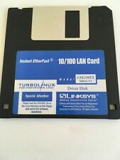 Floppy Disk Instant EtherFast 10/100 lan card LNE100TX driver disk version 4.1