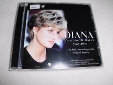 Diana, Princess Of Wales (The BBC Recording Of The Funeral Service) CD - OVP