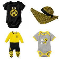 BVB Borussia Dortmund Fußball Bundesliga BVB Babybody langarm gestreift Größe 86