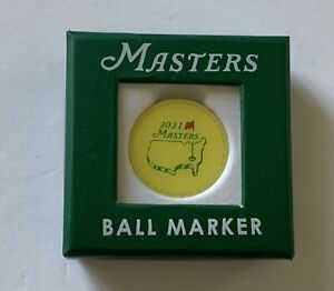 2021 Masters ball marker augusta national golf pga new