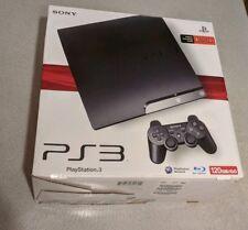 Sony PlayStation 3 Slim PS3 120GB Console with Original Box