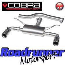 Cobra BMW 335d F30 M-Sport Exhaust Rear Box 340i Style Dual Exit Conversion BM88