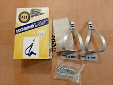 NOS/NIB Ale Tipo Cortissimo toe clip set #97/L.D. Anodized - from the 1980s