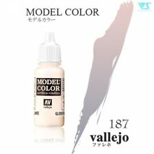 VOLKS Vallejo 70938 187:MODEL COLOR 938 17ml TRANSPARENT BLUE Hobby Toy Figure