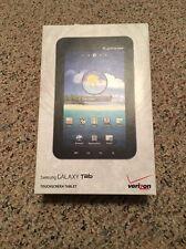 Samsung Galaxy Tab SCH-I800 Wi-Fi + 3G (Verizon) Tablet W/ TONS OF ACCESSORIES!!