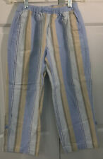 140 HANNA ANDERSSON BEACH PANTS BLUE STRIPE 10