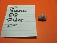 SANSUI EQUALIZER SLIDER CONTROL KNOB TIP SE-9 EQUALIZER