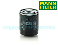 Mann Hummel OE Quality Replacement Engine Oil Filter W 712/73