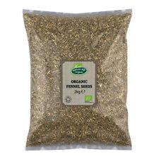 Organic Fennel Seeds 2kg Certified Organic