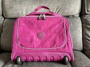Kipling Dallin School / Laptop Bag Wheeled (Magenta)