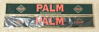 "Palm Ale Lot Of (2) Beer Rubber Bar Rail Spill Mats 23x3"" - Brand New In Bags!!"